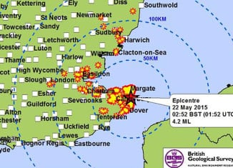 earthquake kent, earthquake kent UK may 2015, kent earthquake, earthquake uk, uk earthquake may 2015, earthquake kent may 22 2015