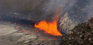 lava lake overflowing hawaii amazing, lava lake overflowing hawaii photo, lava lake overflowing hawaii video, lava lake overflowing hawaii eruption, Halemaumau Crater on Kilauea volcano