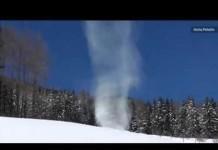 snow devil austria, snow devil austria video, snow devil austria photo, snow devil austria may 2015, snow tornado may 2015, tornado of snow video
