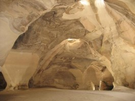 bell caves, bell caves israel, bell caves israel video, singing in bell caves, visit bell caves, bell caves sound like church, sound of bell caves is a church