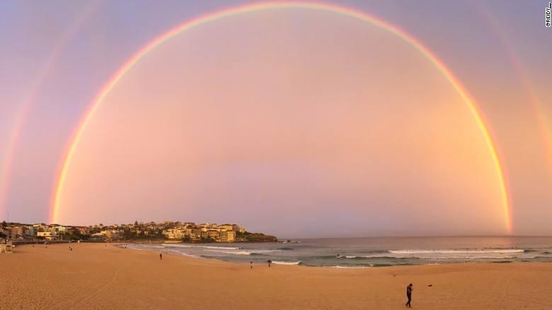double rainbow sydney, double rainbow over sydney, sydney double rainbow , sydney double rainbow photo, sydney double rainbow  video, sydney double rainbow  photo and video