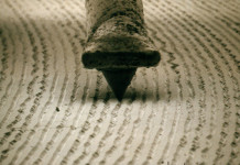 record stylus groove LP, record groove, Just a view from an electron microscope of a record stylus on the grooves of an LP, Incredible microscope view of a vinyl record playing in slow motion