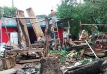 tornado storm villarhermosa, tornado storm villarhermosa may 2015, tornado storm villarhermosa video, tornado storm villarhermosa may 31 2015, Intensa tromba sorprendió a habitantes de Tabasco, Aftermath of the violent tornado-like storm in Villahermosa
