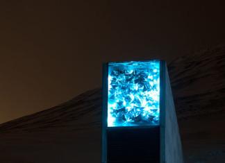 Svalbard Seed Vault, Svalbard Seed Vault at night, Svalbard Seed Vault photo, amazing Svalbard Seed Vault, doomsday Svalbard Seed Vault photo, doomsday Svalbard Seed Vault at night photo
