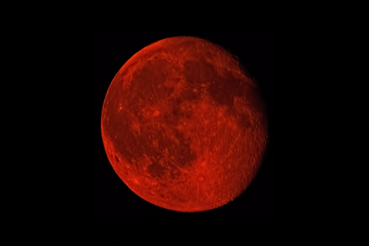 red moon, blood moon, blood moon july 2015, canadian wildfire season, canadian wildfire season turn moon blood red, moon takes red color due to canadian wildfire season, blood moon july 2015, The red Buck Moon