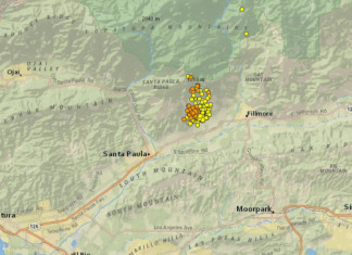 earthquake san andreas, earthquake swarm san andreas, earthquake swarm san andreas july 2015