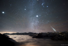 man-made fireball, artificial fireball, geminid fireball, Geminid Fireball over Mount Balang by Alvin Wu, shooting stars on demand, on-demand meteor showers