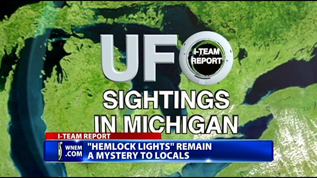 hemlock lights, hemlock lights michigan ufo, hemlock lights michigan, what are hemlock lights, mysterious hemlock lights michigan, michigan hemlock lights
