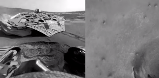 sound of mars, mars sound, first sound of mars record, sound of mass video, first recording of sound of mars, first sounds of mars recorded, The first alien sounds of Mars are so freaky, This video tracks the entire trip of the Mars Opportunity Rover on the red planet including a creepy sound!