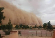 dust storm Djelfa algeria, dust storm Djelfa algeria august 22 2015, djelfa dust storm 2015, djelfa dust storm photo, djelfa sandstorm august 2015 photo, djelfa dust storm video