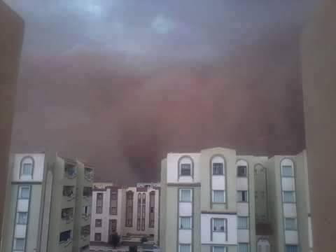 dust storm Djelfa algeria, dust storm Djelfa algeria august 22 2015, djelfa dust storm 2015, djelfa dust storm photo, djelfa sandstorm august 2015 photo, djelfa dust storm video