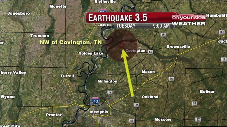earthquake covington Tennessee, earthquake covington Tennessee 2015, M3.5 earthquake strikes the New Madrid Seismic Zone in Tennessee, earthquake covington Tennessee august 2015