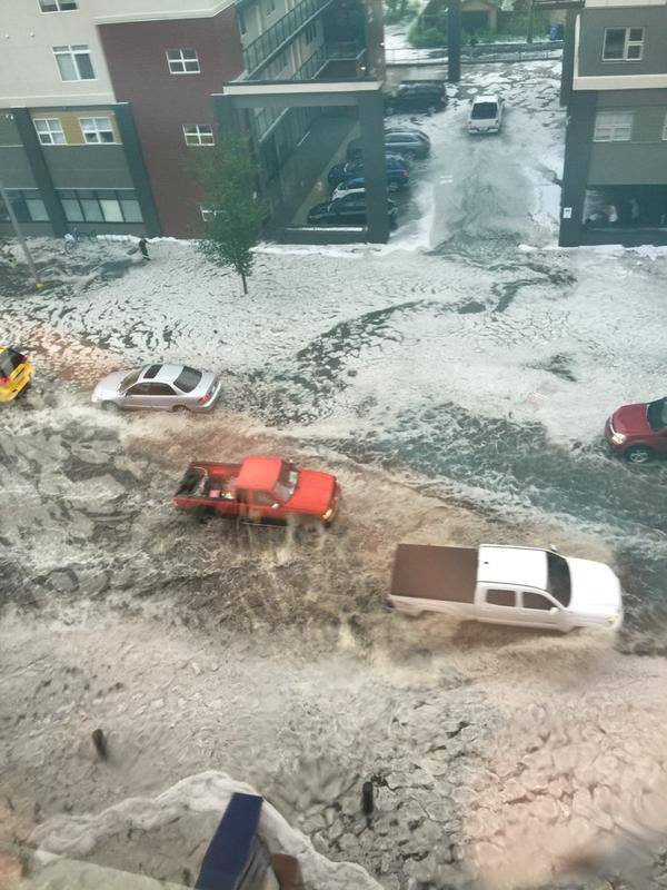 hailstorm calgary, hailstorm calgary photo, hailstorm calgary video, hailstorm calgary august 2015, hailstorm calgary august 4 2015 picture, freak hailstorm august 2015 calgary