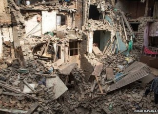 Risk of future Nepal-India earthquake increases, high risk of new nepal earthquake, new nepal earthquake risk, Nepal May Suffer Another Huge Tremor Soon, There is an increased risk of a future major earthquake in an area that straddles the west of Nepal and India, increased risk of second earthquake in India