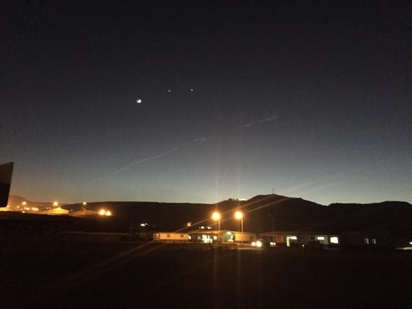 strange sky phenomenon, glowing light in the sky, ufo flying over chile, chile ufo august 2015, chile ufo perseird 2015, perseid meteor shower chile, space junk, The trail left by this glowing sky phenomenon.