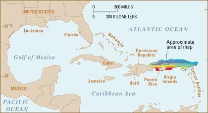 earthquake swarm puerto rico august 2015, puerto rico tranch active august 2015, puerto rico tranch earthquake swarm august 2015