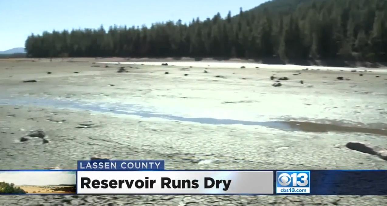 Mystery as California lake runs dry overnight killing ...