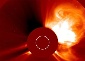 cme sept 30 2015, impressive cme sept 30 2015, giant cme sept 30 2015, earth directed cme sept 30 2015