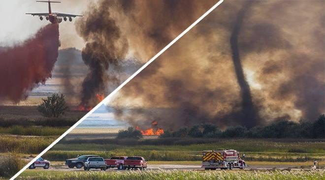 firenado utah, tornado of fire utah, firenado september 2015, firenado West Point Fire utah
