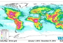 lightning fatalities, Deadly lightning strike, Deadly lightning strike map, Deadly lightning strike increase, killer lightning, number of lightning facilities increase, lightning fatalities increase, A graphic of lightning strikes from around the world from 2012 to 2014,