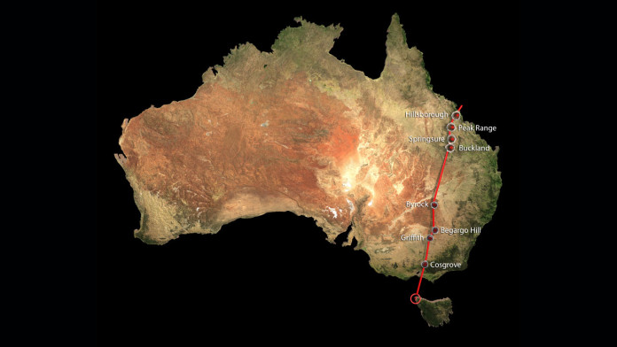 longest continental volcano chain australia, The longest continental volcano chain has been found in Australia and spreads over 1,200 miles in length., scientists discover longest continental volcano chain australia, longest continental volcano chain australia is over 1200 miles long