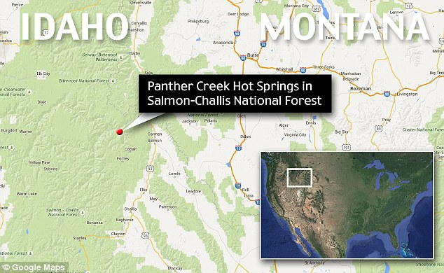 yellowstone alert dogs die burned in hot springs idaho, Hiker burned two dogs die after leaping into Idaho hot springs, Hiker burned and his two dogs die after leaping into Idaho hot springs, yellowstone, yellowstone eruption, yellowstone update 2015, yellowstone update september 2015, Panther Creek is situated right at the edge of the giant Yellowstone supervolcano magma chamber, panther creek dogs die, dogs die in volcamic hot springs at panther creek