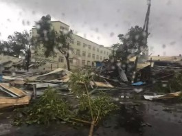 tornado china typhoon mujigae, tornado china video, tornado china photo, Tornado hits Guangdong, Tornado hits Guangdong south china, Tornado hits Guangdong video, Tornado hits Guangdong photo