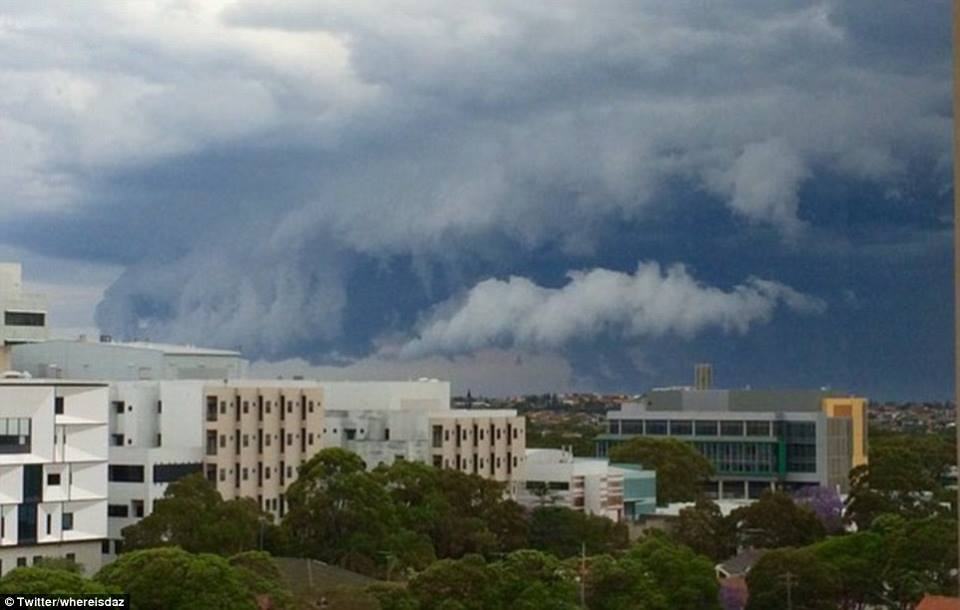 apocalyptic cloud engulfs sydney, apocalyptic shelf cloud engulfs sydney, apocalyptic cloud engulfs sydney pictures, apocalyptic cloud engulfs sydney images, apocalyptic cloud engulfs sydney photos
