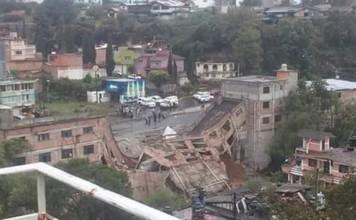 building collapse mexico, building collapse mexico photo, building collapse mexico video, building collapse mexico heavy rain october 2015