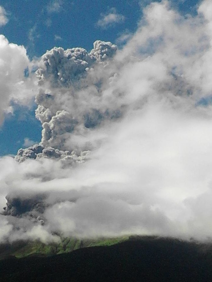 Kanlaon Volcano eruption, Kanlaon eruption, Kanlaon Volcano eruption photo, Kanlaon Volcano eruption december 2015, Kanlaon Volcano eruption december 25 2015