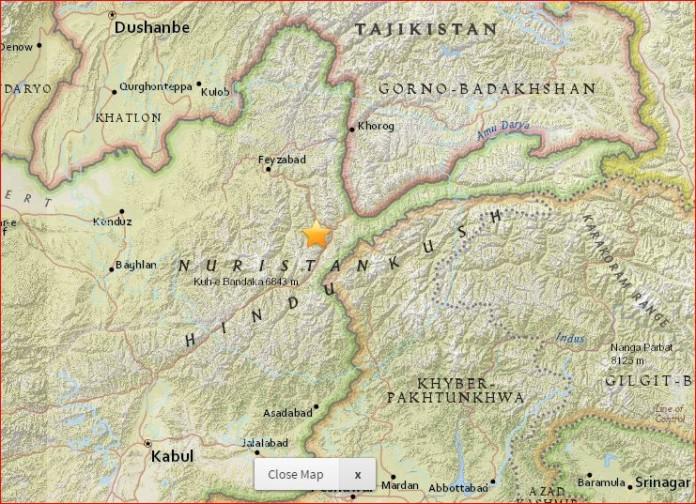 afghanistan earthquake christmas, afghanistan M6.2 quake, strong quake afghanistan christmas, Powerfull M6.2 earthquake hits Afghanistan on Christmas Day, christmas quake afghanistan