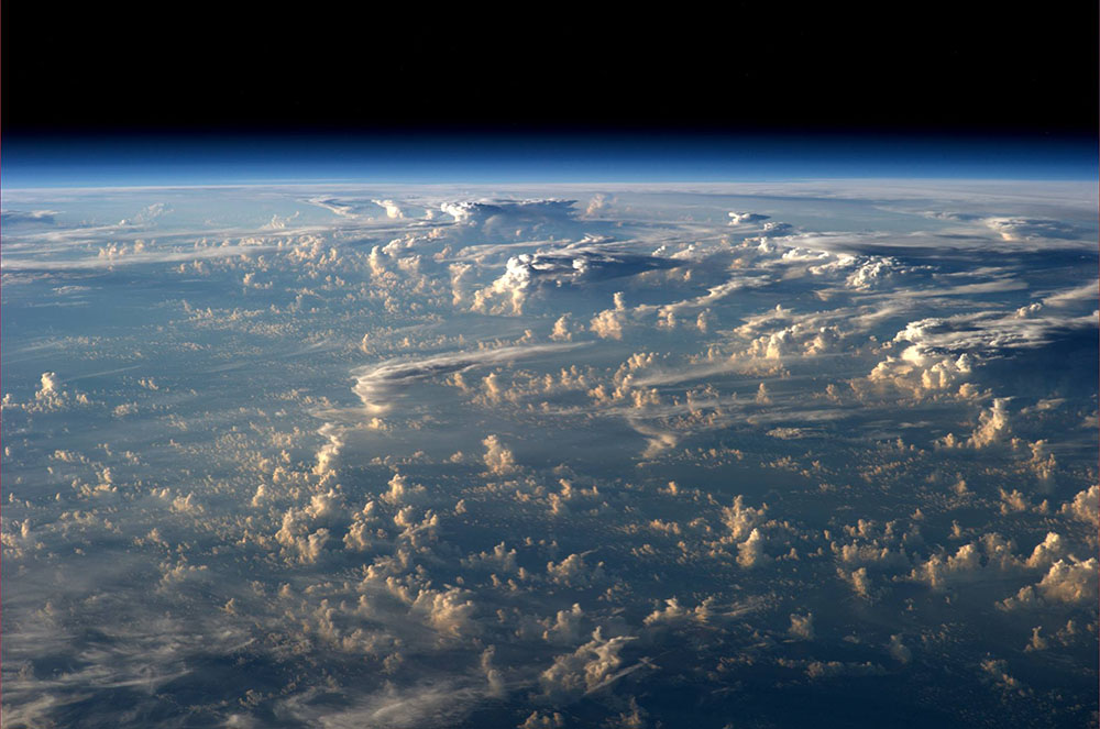 cloud shadow iss, cloud shadow iss space, Clouds cast thousand-mile shadows into Space when viewed aboard the ISS, Clouds cast thousand-mile shadows into Space when viewed aboard the International Space Station, clouds from ISS shadows, pictures of cloud shadows from ISS, cloud shadow from space pictures, pictures of clouds from space