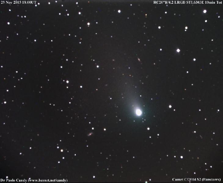 comet panstarrs, comet panstarrs pictures, comet panstarrs 2015 pictures, comet pictures, space pictures 2015, Picture of Comet PANSTARRS by Michael Jäger