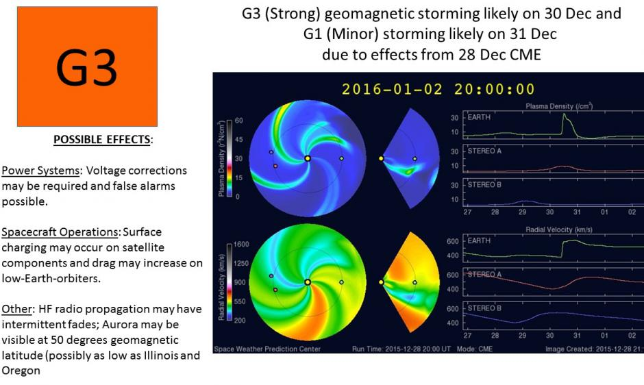g3 magnetic storm december 30 2015, g3 magnetic storm december 30 2015 video, g3 magnetic storm december 30 2015 photo, geomaetic storm earth december 30 2015