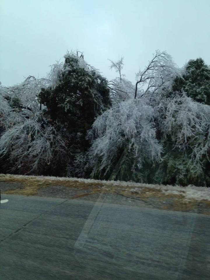 How Many Miles From >> Deadly ice storm in Oklahoma and Kansas pictures and videos - Strange Sounds