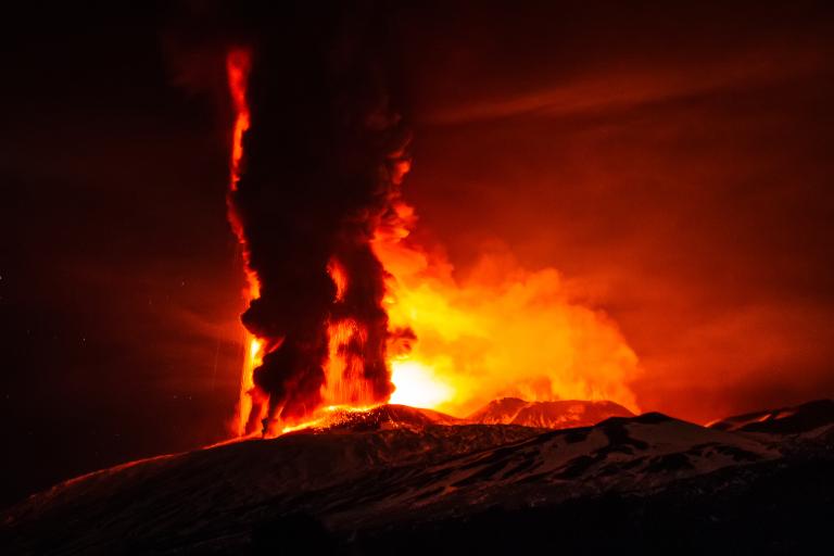 , Mount Etna Eruption pictures, Mount Etna Eruption video, Mount Etna ...