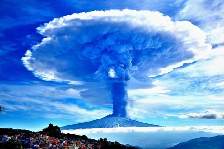 Edna Eruption