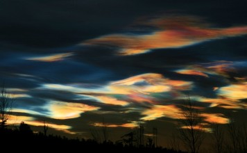 psc, polar stratospheric clouds, colorful polar stratospheric clouds december 2015, colorful polar stratospheric clouds lappland, colorful polar stratospheric clouds pictures