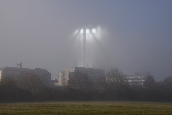 ufo munich, strange lights munich, paranormal munich, strange lights in the sky munich, These weird lights suddenly appeared in the sky of Munich on a foggy day, mysterious lights appear in the sky of munich, mystery lights munich, unexplained lights munich, ufo sightings munich
