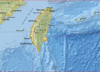 Taiwan earthquake january 19 2016, Taiwan M5.5 earthquake january 19 2016