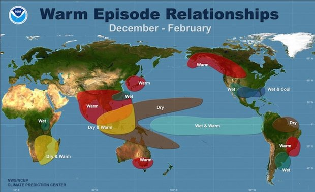 What's Behind the Freakishly Warm Winter in the Eastern U.S.?, warm winter usa, us warm winter, strange weather us 2015