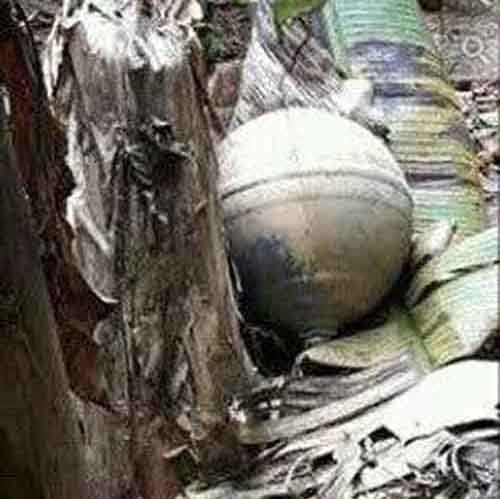 mysterious sphere vietnam, mysterious metallic spheres vietnam, mystery metal spheres vietnam, mysterious orb vietnam strange round object vietnam, SOCIETY Mysterious spheres found dropping onto northern Vietnam after explosion sound, Three unidentified metal orbs were discovered in three provinces in northern Vietnam, Three mysterious spheres have been seen dropping from the sky onto Vietnam after an explosion noise