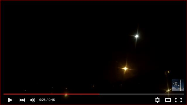 "What is this mysterious yellow star in the sky of Russia, mysterious moving star russia, Падение 2-й ступени РН ""Протон-М"" 30.01.2016, mysterious light russian sky january 30 2016, combustion of the second-stage rocket ""Proton-M"""