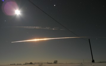 """What is this mysterious yellow star in the sky of Russia, mysterious moving star russia, Падение 2-й ступени РН """"Протон-М"""" 30.01.2016, mysterious light russian sky january 30 2016, combustion of the second-stage rocket """"Proton-M"""""""