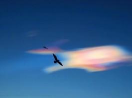 polar stratospheric clouds UK, uk polar stratospheric clouds, aberdeen polar stratospheric clouds, polar stratospheric clouds january 2016, pictures polar stratospheric clouds 2016, psc uk january 2016