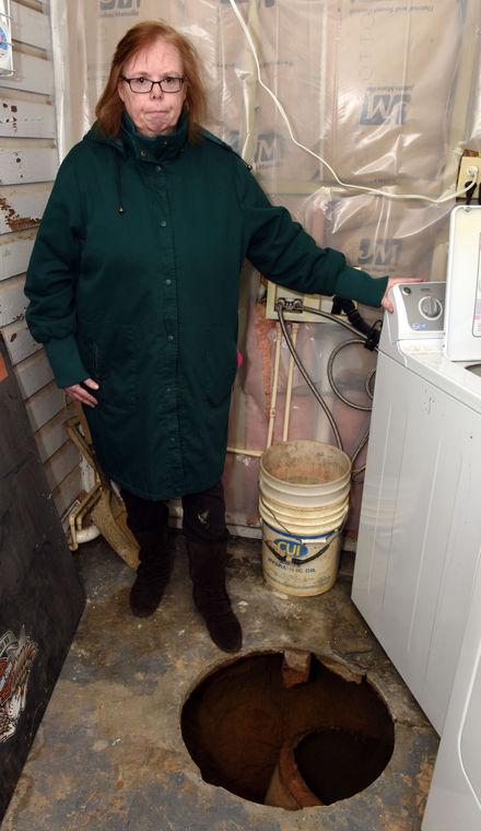 sinkhole swallows woman laundry room danville virginia, danville woman swallowed by sinkhole in laundry room, sinkhole laundry room danville virginia, danville woman swallowed by sinkhole, sinkhole swallows danvill woman, virginia sinkhole danville
