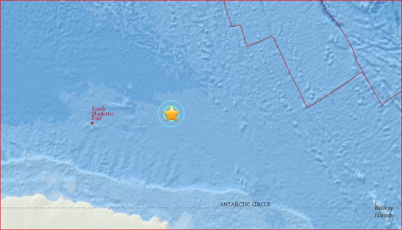 earthquake antarctica february 23 2016, antarctica earthquake february 23 2016, antarctica earthquake february 2016, earthquake antarctica february 23 2016 map
