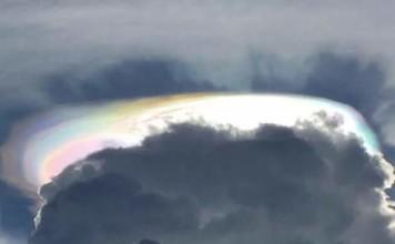 fire rainbow australia, fire rainbow australia picture, fire rainbow australia february 2016, fire rainbow queensland australia, fire rainbow queensland february 2016