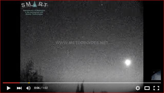 fireball spain video, fireball spain video february 2016, fireball spain video february 23 2016, spain fireball several explosion video, fireball disintegration video, latest fireball sightings, latest fireball sightings february 2016