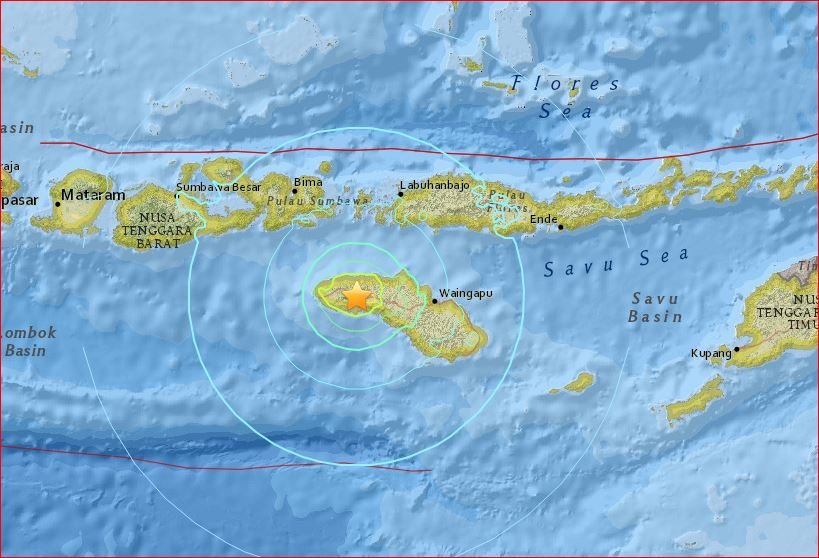 indonesia earthquake february 12 2016, strong earthquake indonesia february 12 2016, powerful earthquake indonesia february 12 2016, M6.2 earthquake indonesia february 12 2016, sumba earthquake indonesia february 12 2016